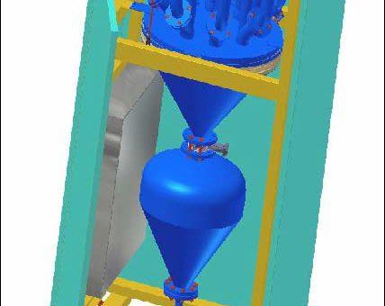 Navažovací a dávkovací systém barvítek AVDBp – X – 20